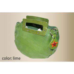 ★dean(ディーン) bowling bag ハンドバッグ ライムの画像
