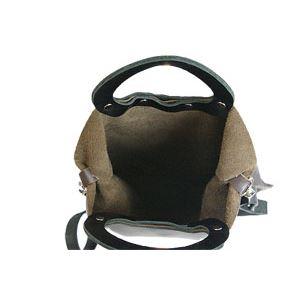 ★dean(ディーン) rectangular bag ハンドバッグ 茶 h03