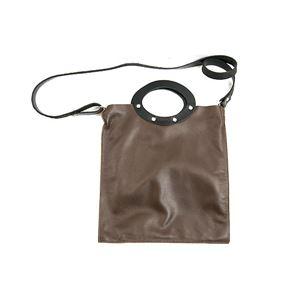 ★dean(ディーン) rectangular bag ハンドバッグ 茶 f05