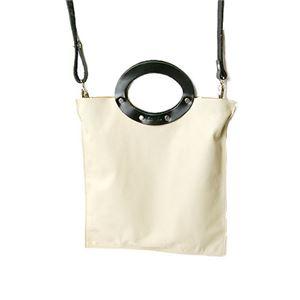 ★dean(ディーン) rectangular bag ハンドバッグ nude(肌色)