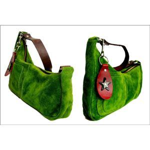 ★dean(ディーン) medium shoulder ハンドバッグ olive(緑) f04
