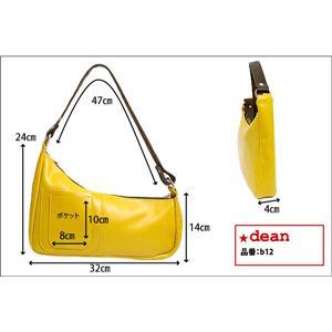 ★dean(ディーン) medium shoulder ハンドバッグ tan(茶) f06