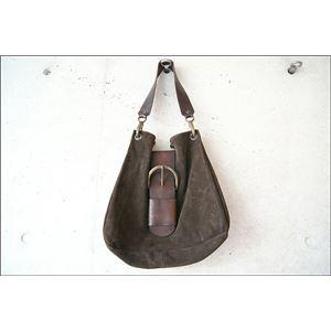 ★dean(ディーン) belt bag ベルトバッグ 茶の画像