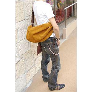 ★dean(ディーン) drow-string rucksack ショルダーバッグ Tabacco(茶)の画像