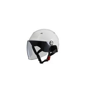 SERIO(セリオ)RE-40シールド付きハーフヘルメットホワイト
