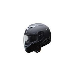 人気のマットブラック ZIONE(ジオーネ) フルフェイスヘルメット グレイ Lサイズ