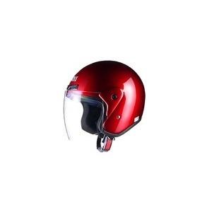 全排気量対応 CR-720 スタンダード ジェットヘルメット キャンディレッド