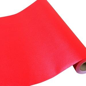 壁紙シール/プレミアムウォールデコシート 【6m巻】 C-WA210 カラー 赤レッド【アウトレット】