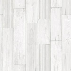 プレミアムウォールデコシート/DIY壁紙シール 【30m巻】 W-WA315 カントリーウッド アイボリー 系