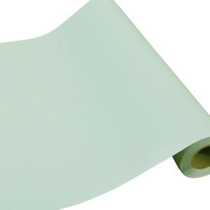 プレミアムウォールデコシート/DIY壁紙シール 【30m巻】 C-WA206 カラー パステルグリーン
