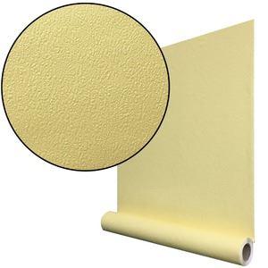 【10m巻】リメイクシート シール式壁紙 プレミアムウォールデコシート C-WA204 カラー 黄色イエロー