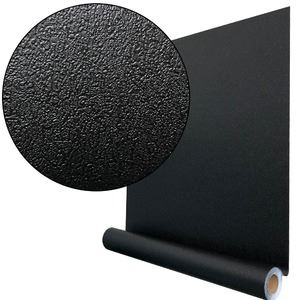 【10m巻】リメイクシート シール式壁紙 プレミアムウォールデコシートC-WA213 カラー 黒ブラック