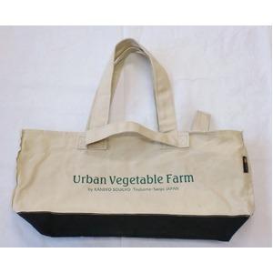 ツールバッグ 【トートタイプ】 綿100% 帆布製 日本製  Urban Vegetable Farm ツールバックトートタイプ・カラーホワイト