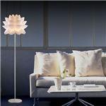 フロアライト(照明器具/スタンドライト) 花モチーフ 北欧風 〔リビング照明/ダイニング照明/寝室照明〕