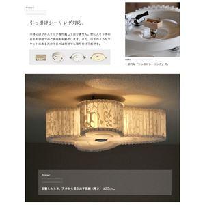 シーリングライト(照明器具) 蝶型 引っ掛けシ...の紹介画像6