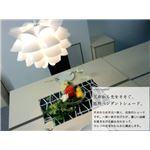 ペンダントライト(吊り下げ型照明器具) 花モチーフ/ブーケシェード 北欧風 〔リビング照明/ダイニング照明/寝室照明〕【電球別売】