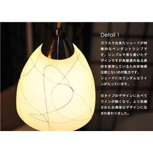 ペンダントライト(吊り下げ型照明器具) ガラス...の紹介画像2