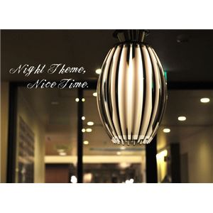 ペンダントライト(吊り下げ型照明器具) すりガラス仕様 〔リビング照明/ダイニング照明/和室照明〕【電球別売】 - 拡大画像