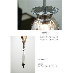 ペンダントライト(吊り下げ型照明器具) ミルク...の紹介画像4