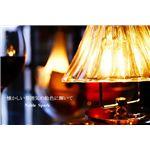ペンダントライト(吊り下げ型照明器具) プリーツ型 ガラス製 アンティーク調 〔リビング照明/ダイニング照明〕【電球別売】