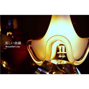 ペンダントライト(吊り下げ型照明器具) ガラス製 〔リビング照明/ダイニング照明〕【電球別売】 - 拡大画像