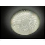 シーリングライト(照明器具) リモコン付き 調光調温 リモコン三段調節 金属/ガラス製 〔リビング照明/ダイニング照明〕【電球別売】
