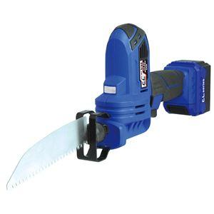 (業務用5個セット) trad 充電式電気ノコギリ(DIY用 電ノコ) TCL-003 14.4V ブルー