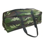 (業務用20セット)DBLTACT トレジャーボックス(作業バッグ/手提げ鞄) Lサイズ 自立型/軽量 DTQ-L-CA 迷彩 〔収納用具〕