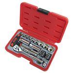 H&H ソケットレンチセット/作業工具 【23個入り】 差込角:9.5mm H-3023 3/8