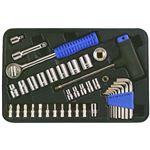 (業務用10個セット) TRAD ソケットレンチセット/作業工具 【39個入り】 フランクドライブ方式 TS39