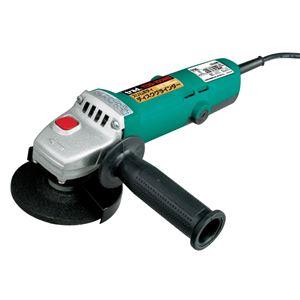 TRADディスクグラインダー/電動工具【550W】スリムシャフトロック機構TDG-100MS100V〔DIY専用〕