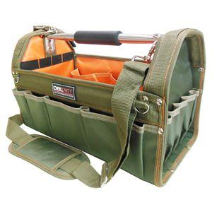 (業務用3個セット) DBLTACT オープンキャリーバッグ 【KH】 DT-SRB-420