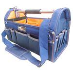 (業務用3個セット) DBLTACT オープンキャリーバッグ 【NV】 DT-SRB-420