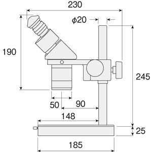 【ホーザン】実体顕微鏡 L-50