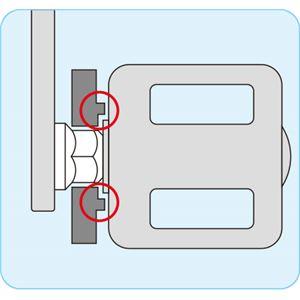 【ホーザン】 ペダルレンチ 15mm ラウンド形状グリップ C-210 〔業務用/プロ向け/自転車工具/DIY用品〕
