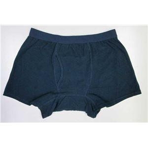 男性用・軽失禁パンツ 快適ボクサーパンツDX 紺 LLサイズ f04