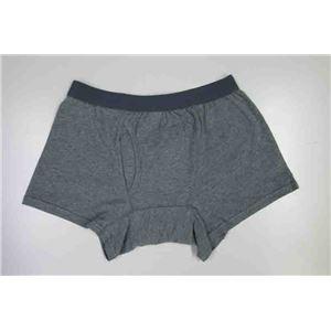 男性用・軽失禁パンツ 快適ボクサーパンツDX グレー Lサイズ f05