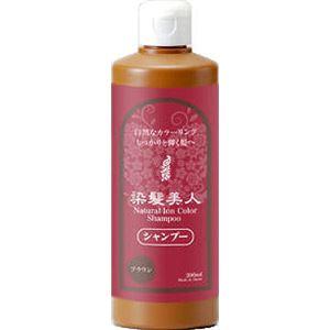 モデム 染髪シャンプー&トリートメント 300ml ブラウン シャンプー