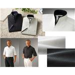 二重変化衿5分袖シャツ2枚組 Sサイズ