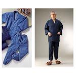 デニム作務衣 ソフトブルー 3Lサイズ
