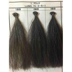 昆布の白髪用カラーシャンプー/トリートメント シャンプー ナチュラルブラック