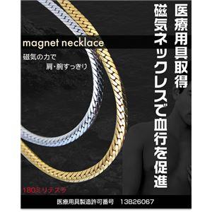 平喜平磁気ブレス&ネックレス プラチナ h02