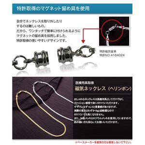 平喜平磁気ブレス&ネックレス プラチナ h03