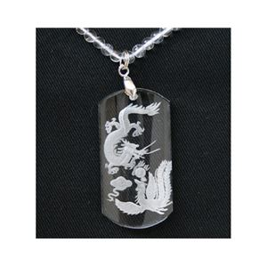水晶・龍鳳ペンダント h01