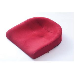 座るだけで正しい姿勢をサポートするクッション スポッとクッション レッド