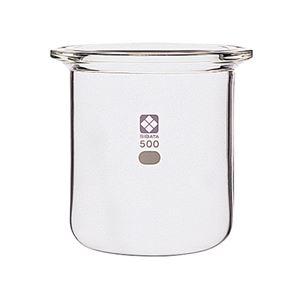 【柴田科学】セパラブルフラスコ 円筒形 バンド式 85mm 500mL 005820-500