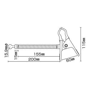 ミラーサポート用品 KP-60 【単品】