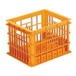 (業務用10個セット) 三甲(サンコー) クールキャリア(保冷用コンテナボックス) 2型 PP製 オレンジ