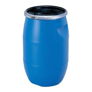 (業務用2個セット)三甲(サンコー)液体輸送用プラスチックドラム【オープンタイプ】PDO30L-1ブルー(青)
