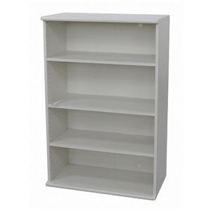 カラーボックス(収納棚/カスタマイズ家具) 4段...の商品画像